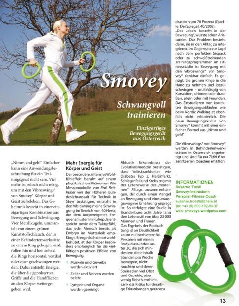 Schwungvoll trainieren mit Smoveys