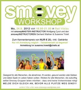 Smovey Workshop für Einsteiger