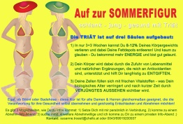 Sommerfigur Bikinifigur